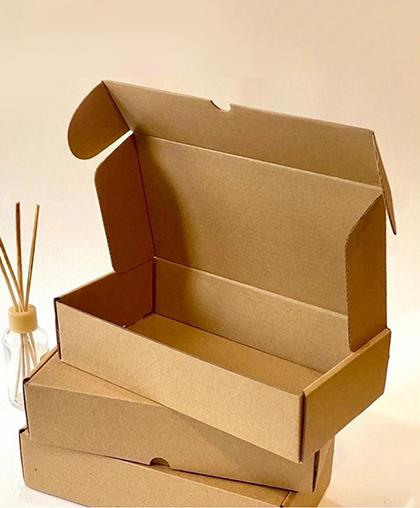 Коробочка из гофрированного картона