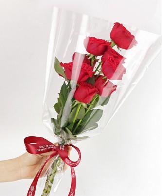 Пакет-конус для цветов, 100 штук