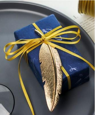 Лента декоративная золотистая, шириной 3 мм / метражом