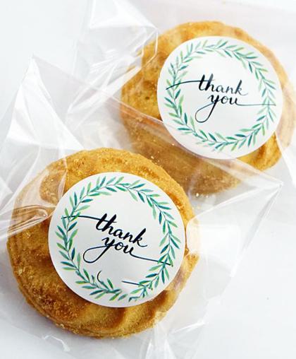 "Стикер ""Thank You""   12  шт."