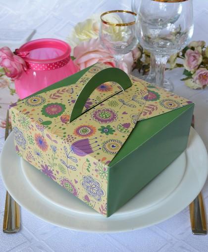 """Подарочная коробка """"Summer"""" зелень"""