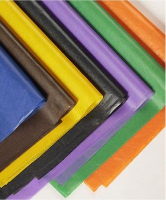 Папиросная бумага вощёная, 50х75 см, 10 листов
