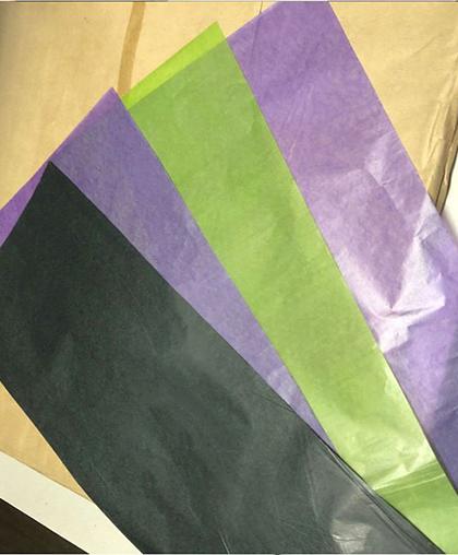 Папиросная бумага вощёная, 28х75 см, 20 листов