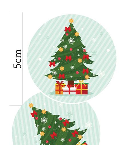 """Стикеры """"Новогодняя ёлка"""" (набор 10 шт.)"""