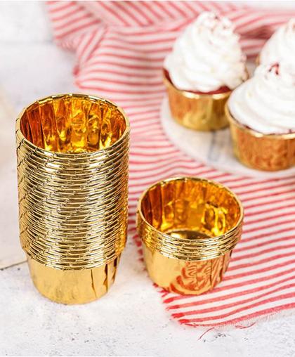 """Кондитерские формочки """"Золото"""", 25 штук"""