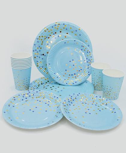 """Набор праздничной посуды """"Конфетти"""""""