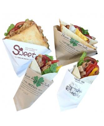 Бумажный конверт для сэндвича (10 шт.)