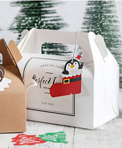 "Подарочная коробка белая ""Сундучок"""