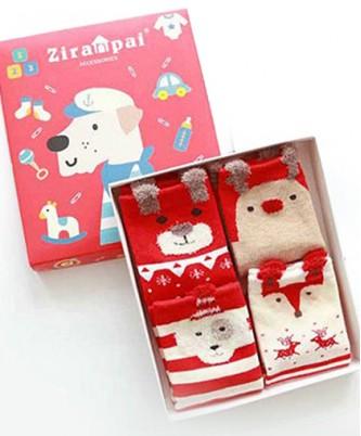 Подарочная коробка с 4 парами НГ-носков