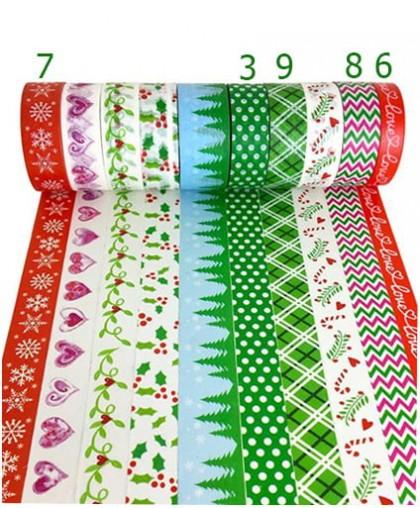 "Стикерная лента ""Рождество"" 10 м"