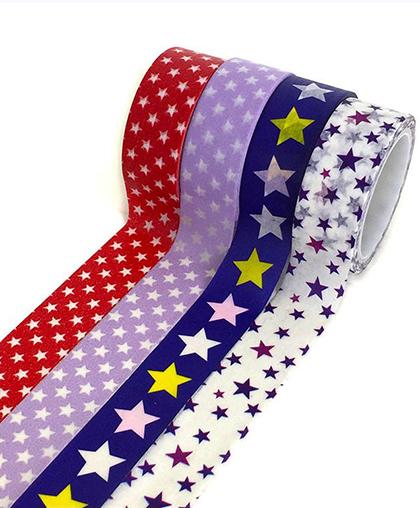 "Стикерная лента   набор из 4-х шт ""Stars"""
