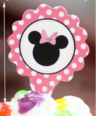 "Топпер ""Minnie Mouse"" (25 шт.)"