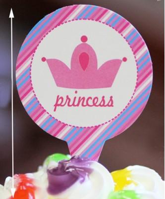 "Топпер ""Princess"" (25 шт.)"
