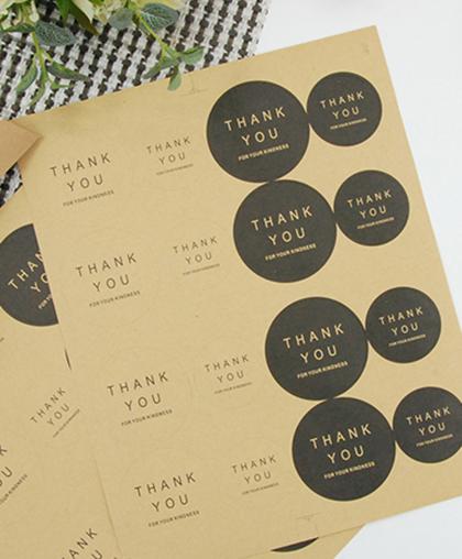"Стикер ""Thank You"" | 16 шт."