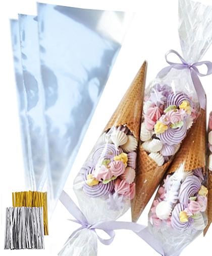 Кулёк для сладостей, упаковка / 50, 100 или 1000 шт.