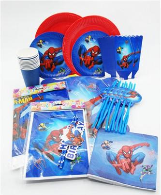 Большой набор посуды Spider-Man +