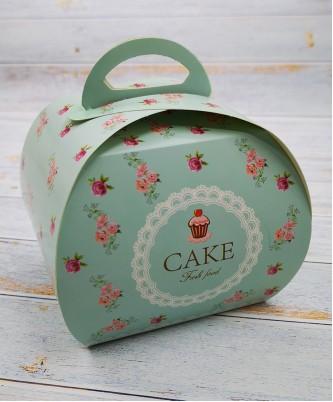 """Бонбоньерка с надписью """"CAKE """""""