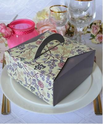 """Подарочная коробка """"Summer"""" сирень"""